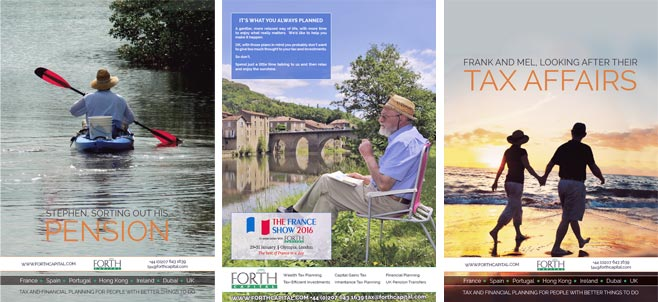 Forth Capital lifestyle posters