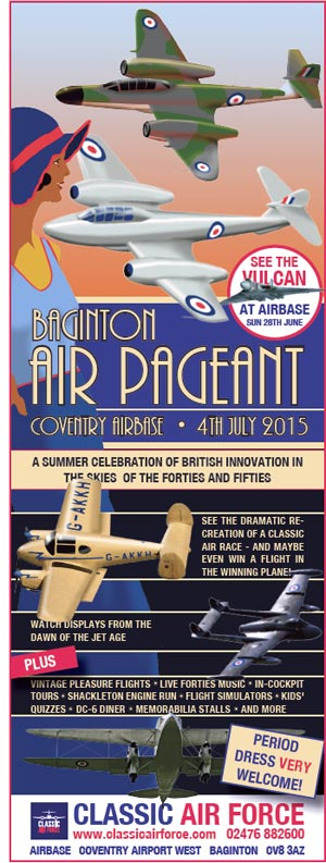 Baginton Air Pageant advert